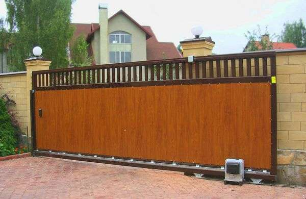 Купить автоматические раздвижные ворота в Кривом Роге